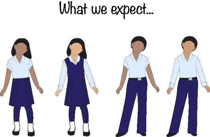 how to draw a school boy uniform